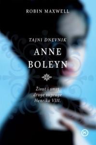 Naslovnica knjige: TAJNI DNEVNIK ANNE BOLEYN