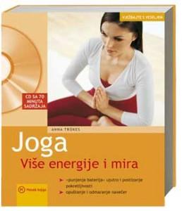 Naslovnica knjige: JOGA+CD