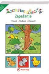 Naslovnica knjige: PATULJKOVA UČIONICA – ZAPAŽANJE