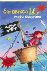 Naslovnica knjige: ČAROBNICA LILI MEĐU GUSARIMA