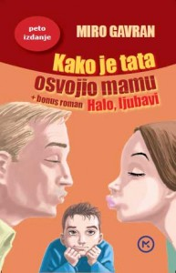 Naslovnica knjige: KAKO JE TATA OSVOJIO MAMU