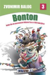 Naslovnica knjige: Bonton 3