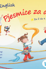 Naslovnica knjige: EARLY ENGLISH – pjesmice za djecu + CD