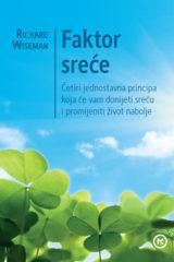 Naslovnica knjige: FAKTOR SREĆE