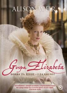Naslovnica knjige: GOSPA ELIZABETA