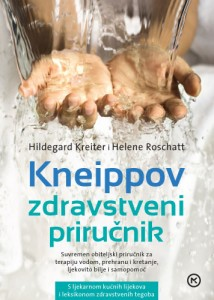 Naslovnica knjige: KNEIPPOV ZDRAVSTVENI PRIRUČNIK