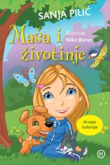 Naslovnica knjige: Maša i životinje