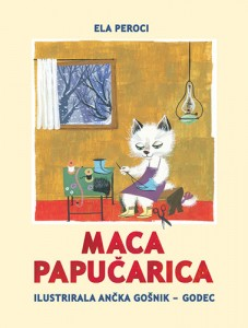 Naslovnica knjige: MACA PAPUČARICA