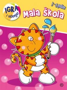 Naslovnica knjige: MALA ŠKOLA MAČKA – 3-4 godine