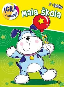 Naslovnica knjige: MALA ŠKOLA PAS – 3-4 godine