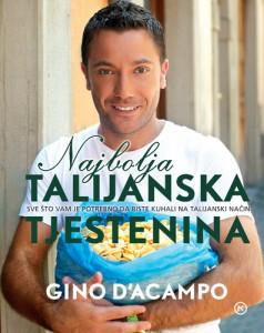 Naslovnica knjige: Najbolja talijanska tjestenina