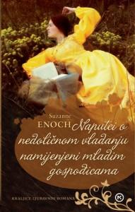 Naslovnica knjige: NAPUTCI O NEDOLIČNOM VLADANJU NAMIJENJENI MLADIM GOSPOĐICAMA