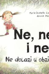 Naslovnica knjige: NE, NE I NE!