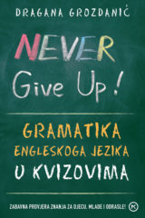 Naslovnica knjige: Never give up!