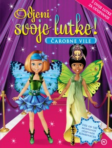Naslovnica knjige: Odjenite svoje lutke – čarobne vile