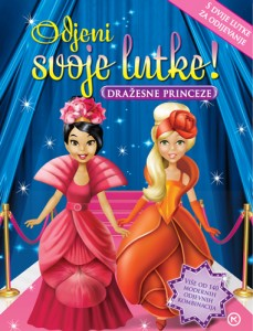 Naslovnica knjige: Odjenite svoje lutke – dražesne princeze
