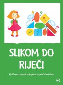 Naslovnica knjige: SLIKOM DO RIJEČI