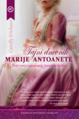 Naslovnica knjige: TAJNI DNEVNIK MARIJE ANTOANETE