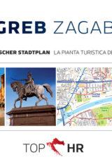 Naslovnica knjige: TOP HR – ZAGREB / ZAGABRIA NJEM-TAL