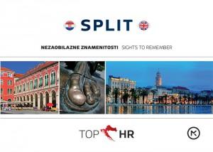 Naslovnica knjige: TOP HR – SPLIT HRV-ENG