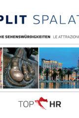 Naslovnica knjige: TOP HR – SPLIT / SPALATO NJEM-TAL