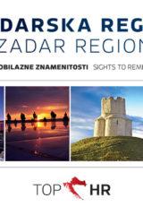 Naslovnica knjige: TOP HR – ZADARSKA REGIJA / ZADAR REGION HRV-ENG