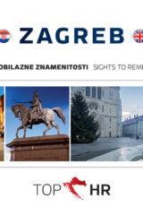 Naslovnica knjige: TOP HR – ZAGREB HRV-ENG