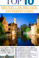 Naslovnica knjige: TOP 10 BRUXELLES, BRUGGE, ANTWERPEN I GENT