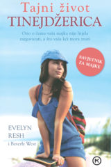 Naslovnica knjige: Tajni život tinejdžerica – savjetnik za majke