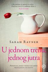 Naslovnica knjige: U JEDNOM TRENU, JEDNOG JUTRA