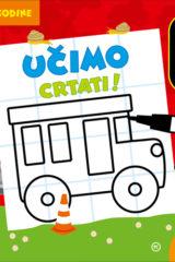 Naslovnica knjige: UČIMO CRTATI (od 4. godine)
