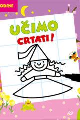 Naslovnica knjige: UČIMO CRTATI (od 5. godine)
