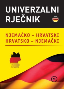 Naslovnica knjige: Univerzalni rječnik – njemački
