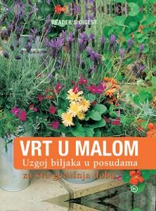 Naslovnica knjige: VRT U MALOM