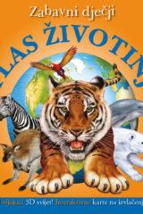 Naslovnica knjige: ZABAVNI DJEČJI ATLAS ŽIVOTINJA