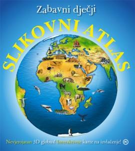 Naslovnica knjige: ZABAVNI DJEČJI SLIKOVNI ATLAS