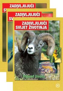 Naslovnica knjige: ZADIVLJUJUĆI SVIJET ŽIVOTINJA DVD