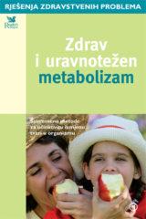 Naslovnica knjige: ZDRAV I URAVNOTEŽEN METABOLIZAM
