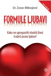 Naslovnica knjige: Formule ljubavi