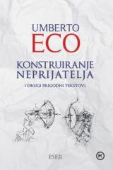 Naslovnica knjige: Konstruiranje neprijatelja