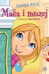 Naslovnica knjige: MAŠA I MUZEJ