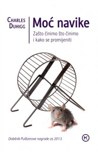 Naslovnica knjige: MOĆ NAVIKE