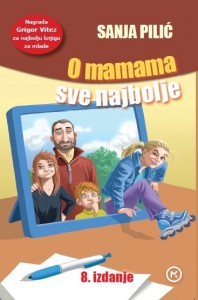 Naslovnica knjige: O mamama sve najbolje