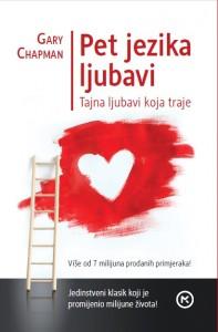Naslovnica knjige: Pet jezika ljubavi