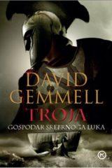 Naslovnica knjige: Troja – gospodar srebrnog luka