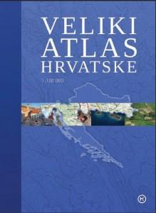 Naslovnica knjige: VELIKI ATLAS HRVATSKE